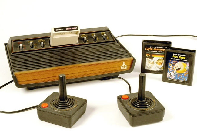 In this photo provided by Strong National Museum of Play is the Atari video game system inducted into the Toy Hall of Fame in Rochester, N.Y., Thursday Nov. 8, 2007. (AP / Strong National Museum of Play)