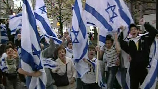 Montreal's Israel independence celebration, which has been running for 10 years, is the largest rally for Israel in Canada, according to organizers.