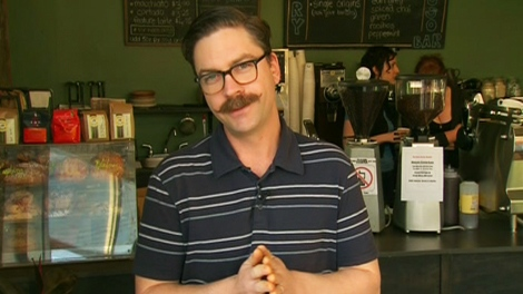 Matthew Taylor, owner of the Mercury Espresso Bar in Toronto, appears on CTV's Canada AM on Tuesday, April 20, 2010.