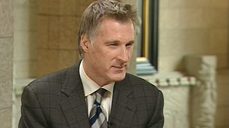 Conservative MP Maxime Bernier speaks with CTV's Power Play in Ottawa, on Tuesday, April 20, 2010.