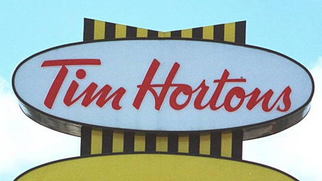 A man nearly died at a Tim Horton's drive-thru in Wallaceburg, Ont. Tuesday.