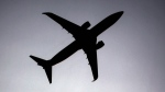 A plane approaches Duesseldorf airport, western Germany, in this file photo from, Tuesday, April 20, 2010. (AP / Frank Augstein)