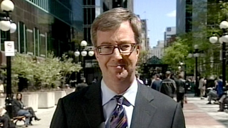 Mayoral candidate Jim Watson unveiled part of his economic plan for the City of Ottawa, Monday, April 26, 2010.