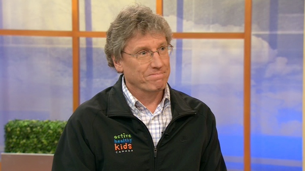 Dr. Mark Tremblay, the chief scientific officer for Active Healthy Kids Canada, speaks on CTV's Canada AM, Tuesday, April 27, 2010.