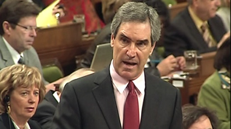 Liberal Leader Michael Ignatieff speaks during question period in the House of Commons on Parliament Hill in Ottawa, Tuesday, April 27, 2010.