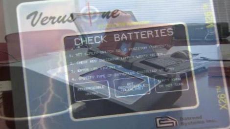New Tazer power testing machine, Verus One. (CTV)