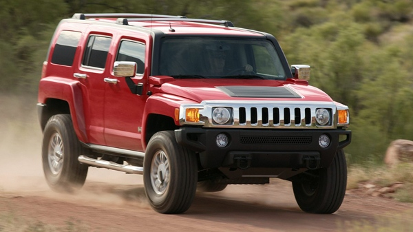 This undated photo provided by General Motors shows a 2006 Hummer H3.