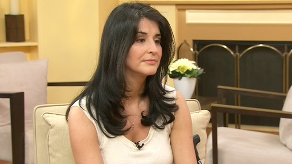 Diana Price, an MS patient advocate, speaks on CTV's Canada AM, Wednesday, May 5, 2010.