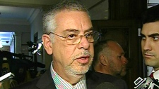 Quebec Public Security Minister Jacques Dupuis called the dual roles 'inappropriate', Wednesday, May 5, 2010.