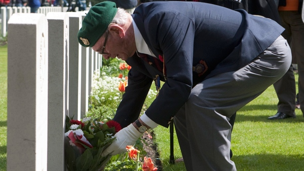 Canadian veterans in Holland