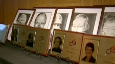 Five residents were inducted into the Ottawa Sports Hall of Fame, Wednesday, May 5, 2010.