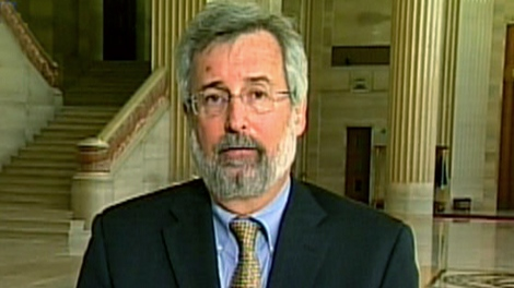 Lawyer Peter Jacobsen appears on CTV News Channel, Friday, May 7, 2010.