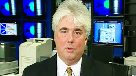 Sean Kelly, with the Canada-Newfoundland and Labrador Offshore Petroleum Board, speaks to CTV's Canada AM on Monday, May 10, 2010.