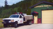 The East Gate Fire Protection Society's customized truck was stolen over the weekend. May 11, 2010. (EGFPS)