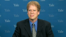 Yale University's Paul Bloom speaks on CTV's Canada AM from New Haven, CT, Tuesday, May 11, 2010.