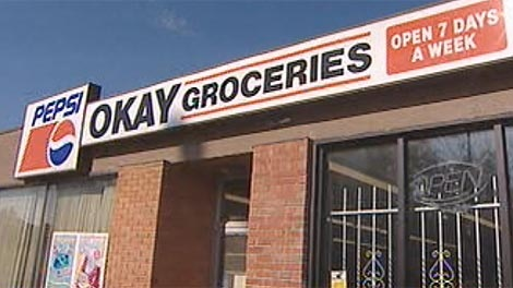 In September, police said a suspect had been arrested for the incident at Okay Groceries on Sherbrook Street.