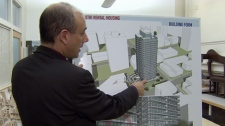 Some West End residents oppose a proposed new rental property development. (CTV)