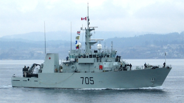 Three Kingston-class coastal defence vessels will be removed from service on the West Coast, and three on the East Coast. HMCS Whitehorse is seen in the above image. Marine Command has not announced which ships will be docked.