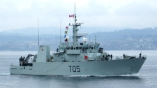 HMCS Whitehorse: Canadian warship ordered home