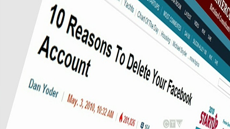 Interest in deleting Facebook accounts appears to be increasing as privacy changes cause growing concern among users.