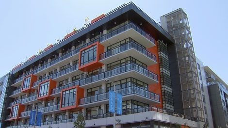 Rennie Marketing Systems predicts the Olympic Village will take two years to sell out, May 14, 2010. (CTV)