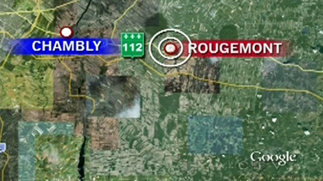 The fatal accident occurred in Rougemont, Que., just south of Montreal, causing a shutdown of debris-strewn Highway 112 on Friday, May 14, 2010.