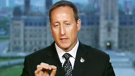 Defence Minister Peter MacKay appears on CTV's Canada AM from the Ottawa studio on Friday, May 14, 2010.