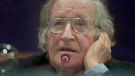 American linguist and political activist Noam Chomsky listens to a question during a conference in Santo Domingo, Dominican Republic, Thursday, March 9, 2006. (AP Photo / Ramon Espinosa)