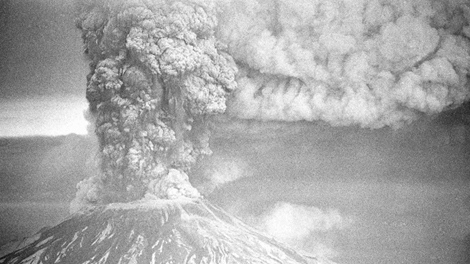 In this May 19, 1980 file photo, Mount St. Helens erupts in Washington state, sending a plume of ash many miles skyward.(AP Photo/Jack Smith, File)