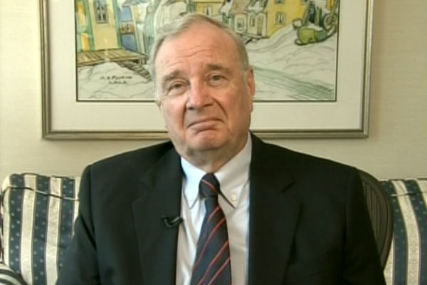 Former prime minister Paul Martin speaks on CTV's Power Play on Wednesday, May 19, 2010.