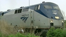 The Maple Leaf train, which runs daily between New York City and Toronto, is run by both Amtrak and Via Rail.