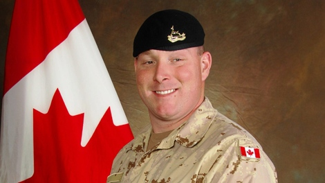 Canadian Trooper Larry Rudd is shown in a military handout photo. (THE CANADIAN PRESS/HO-Department of National Defence)