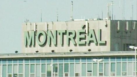 The outside of Montreal's Pierre Elliott Trudeau