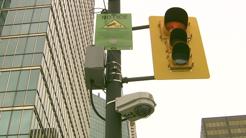 Closed-circuit television (CCTV) cameras are being installed throughout downtown Toronto ahead of the G20 summit.