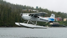 Float plane crash near Vancouver Island