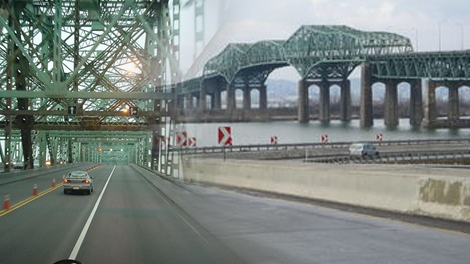 Montreal Champlain Bridge graphic