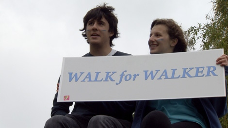 A charity run organized by Prince of Wales Secondary School students raised more than $14,000. May 30, 2010. (CTV)