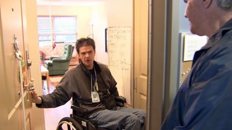 MS patients Martin Dimitov, left, and Rick Pereira are part of a human rights complaint against the B.C. government. June 2, 2010. (CTV)
