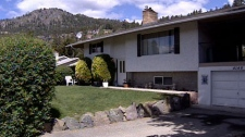 The Peachland, B.C., home where a 16-year-old girl was stabbed to death. June 3, 2010. (CTV)