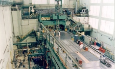 The NRC's National Research Universal (NRU) reactor in Chalk River, Ont. is the world's biggest producer of medical isotopes. The image shows the interior of the cathedral-sized NRU reactor hall. (Photo: National Research Council of Canada)