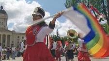 Pride celebrations got underway on Sunday afternoon.