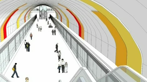 Plans for light rail transit in Ottawa include a downtown tunnel to rid the city's core of heavy traffic.
