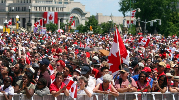 A new study says Canada's population could exceed 40 million by 2036. (THE CANADIAN PRESS/Sean Kilpatrick)