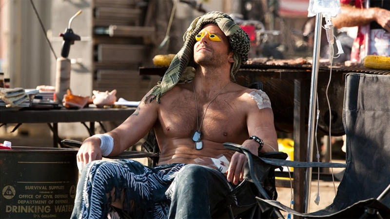 Bradley Cooper in 20th Century Fox's 'The A-Team.'