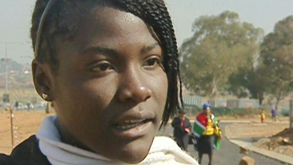 15-year-old Maggie, who was able to escape from human traffickers after she was captured, speaks with CTV News in Soweto, South Africa.