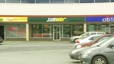 This Subway restaurant in Dartmouth, N.S. fired an employee for reportedly giving away free subs without properly marking it down.