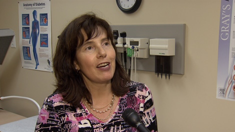 B.C. addiction doctor Jennifer Melamed says denying problem gamblers their winnings doesn't help them overcome their addictions. June 11, 2010. (CTV)