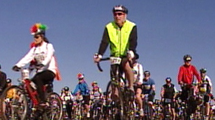 Edmonton's 2010 bikers kick off their two-day tour on Saturday, marking the largest group raising money for MS across the country.
