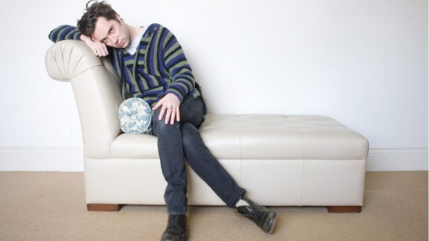 Rufus Wainwright poses for a photo in a Toronto hotel room on Wednesday, March 3, 2010. (Chris Young / THE CANADIAN PRESS)