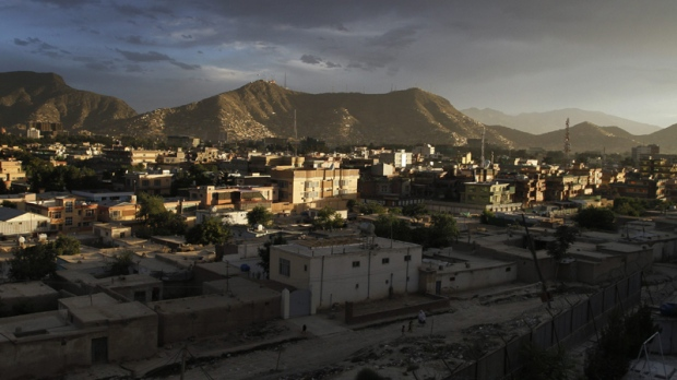 View from a part of the Kabul city is seen during a sunset in Kabul, Afghanistan on Monday, June 14, 2010. (AP / Musadeq Sadeq)